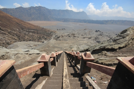 Stairway to Bromo