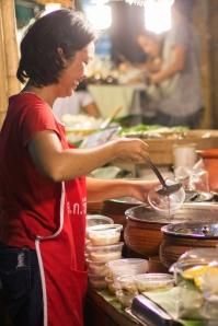 Food at Loy Krathong