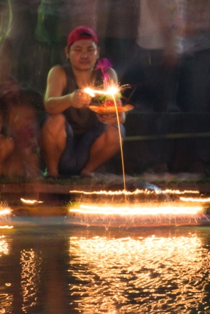 Loy Krathong in Bangkok