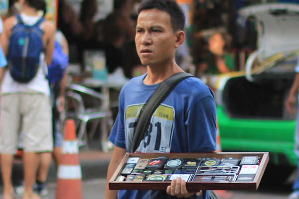 Street vendor on Khao San