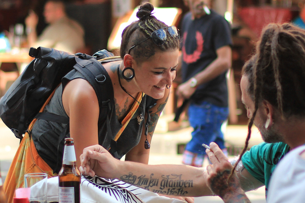 New tats on Khao San Road