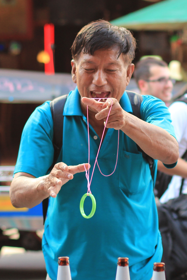 Magic lessons, Khao San Road