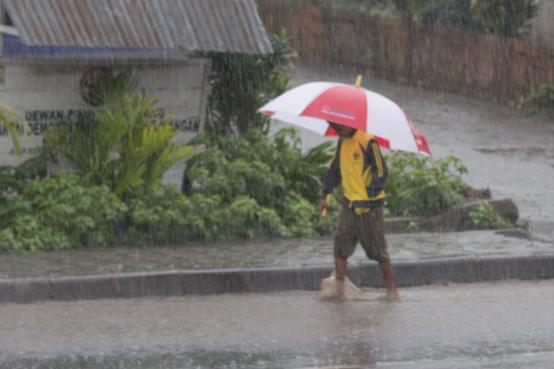 Rain Storm in Bajawa