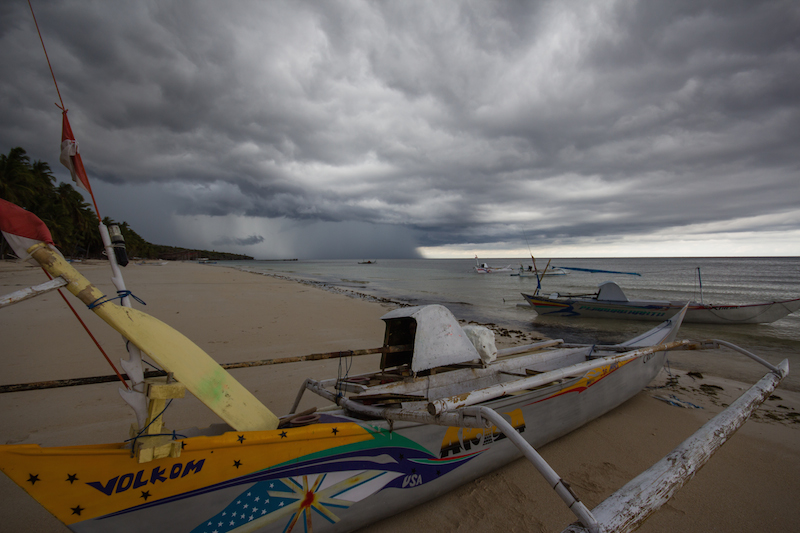 Bira Beach storm
