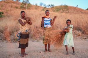 Girls on Likoma Island