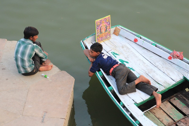 Boys on the Ganges