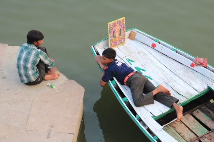 Boys on the Ganges