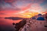 Most Beautiful Santorini Sunset
