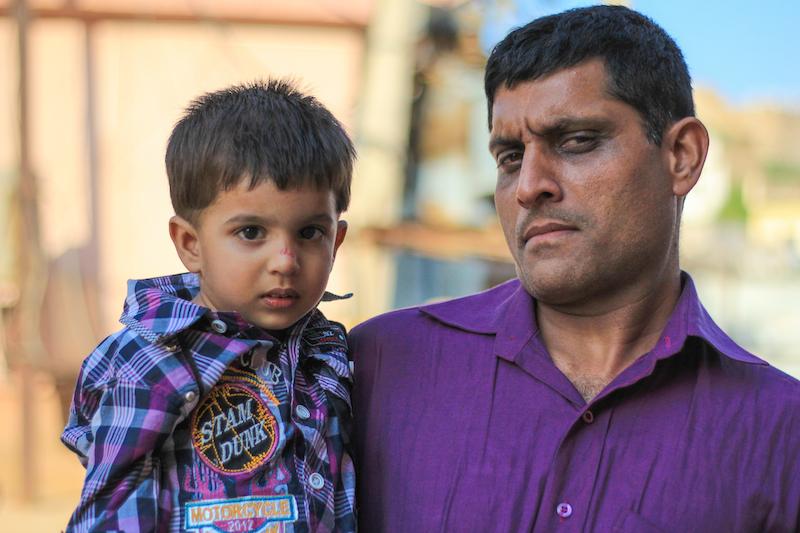 Street portrait India