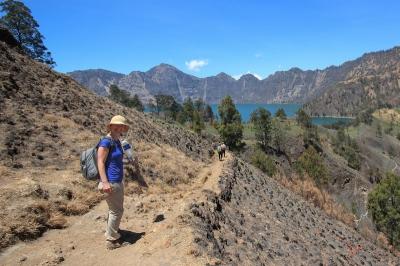 Trekking to Rinjani Lake