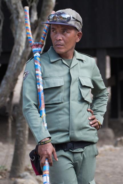 Komodo tour guide.