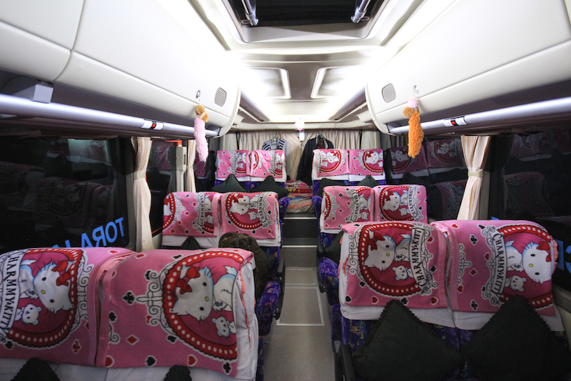 Sulawesi Night Bus