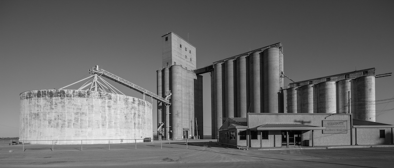 Thomas Oklahoma Grain Elevator