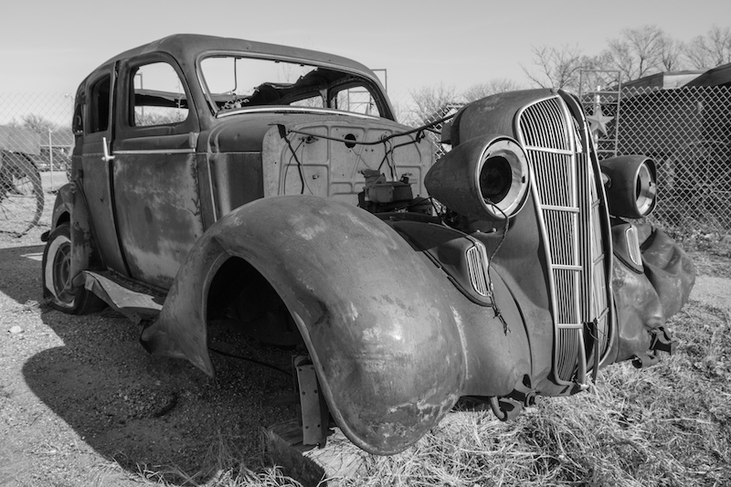 Old Car in Waynoka