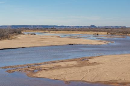 Cimarron River near Waynoka