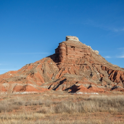 The rugged Gloss Mountains.
