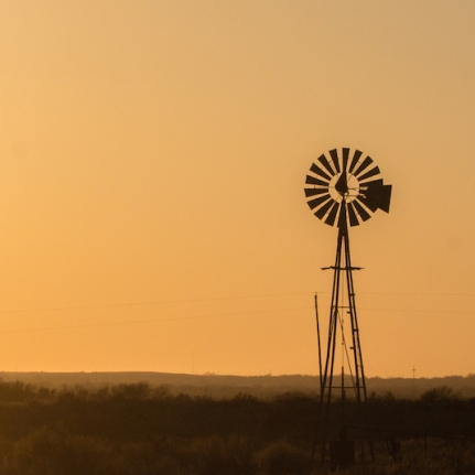 Windmill in Oklahoma