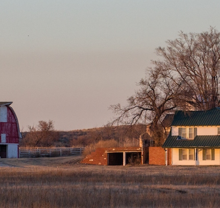 Farm near Woodward