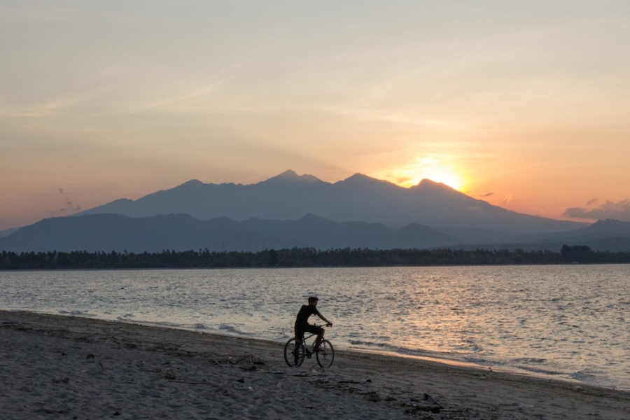 Sunrise over Mount Rinjani