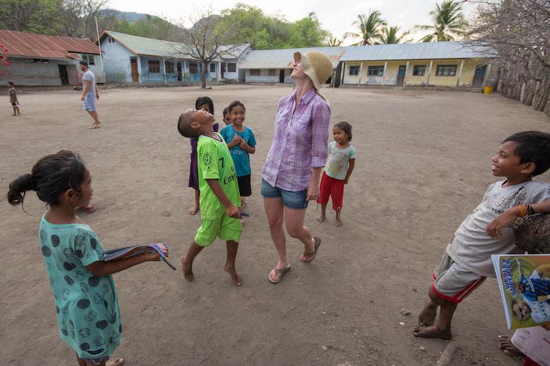 Rinca Island Dancing