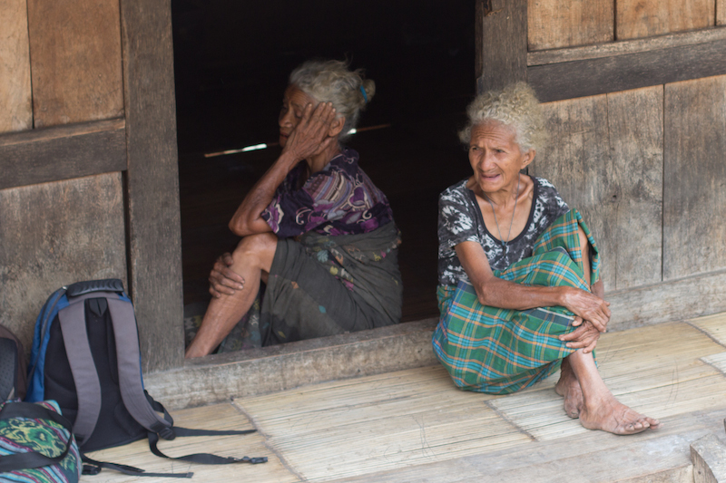 Belaragi old ladies