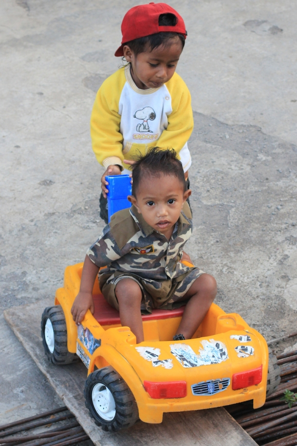 Kids in Flores
