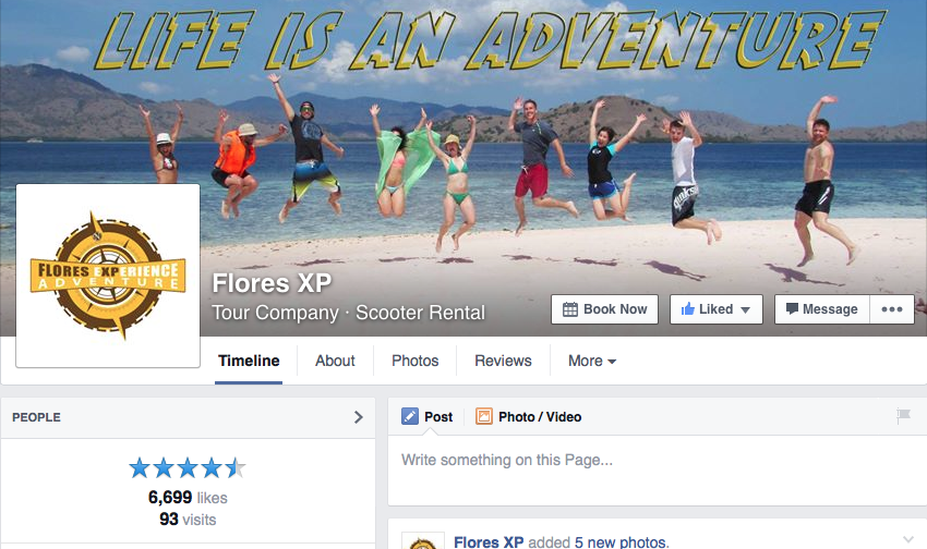 Flores XP Facebook
