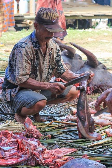 Toraja butcher