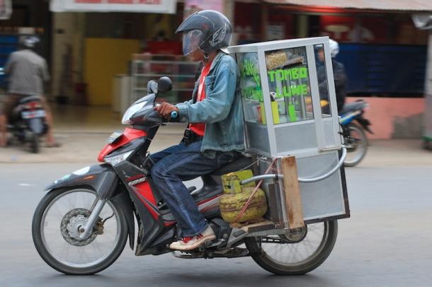 Motorbike vendor