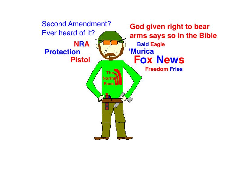 Douche Gun Fox News
