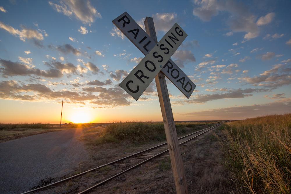 Weatherford Oklahoma sunset