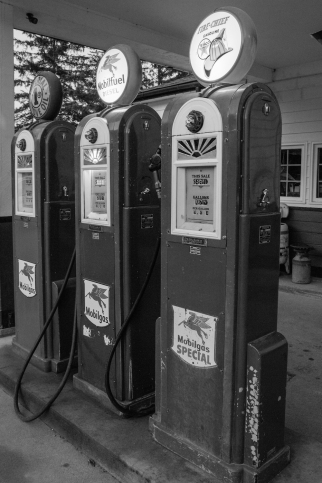 Gustavus gas station
