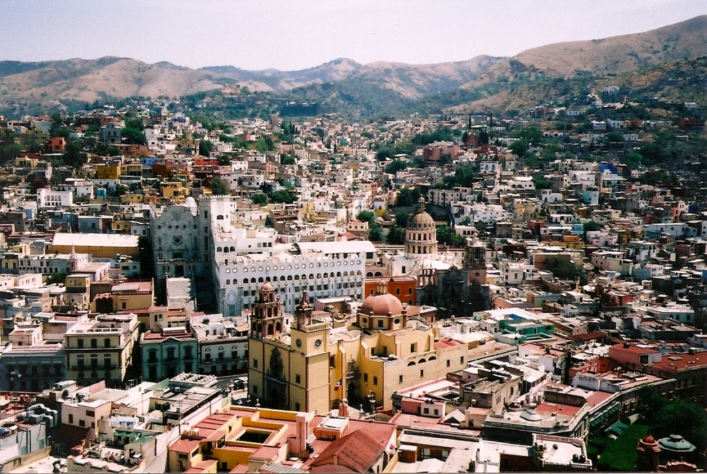 Guanajuato in film photos