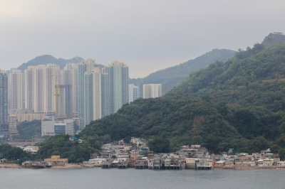 The edge of Hong Kong