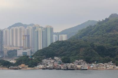 The edge of Hong Kong