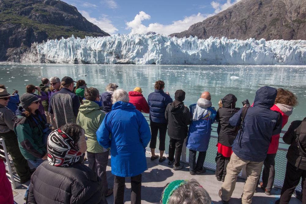 Glacier Bay Boat Tour at Marjorie Glacier