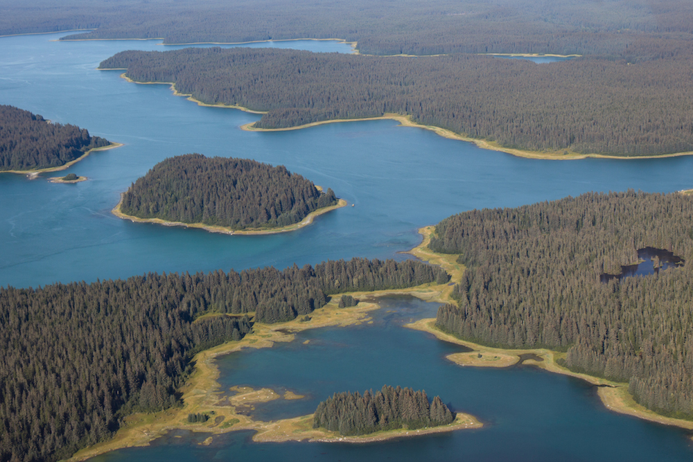 Beardslee Islands from above