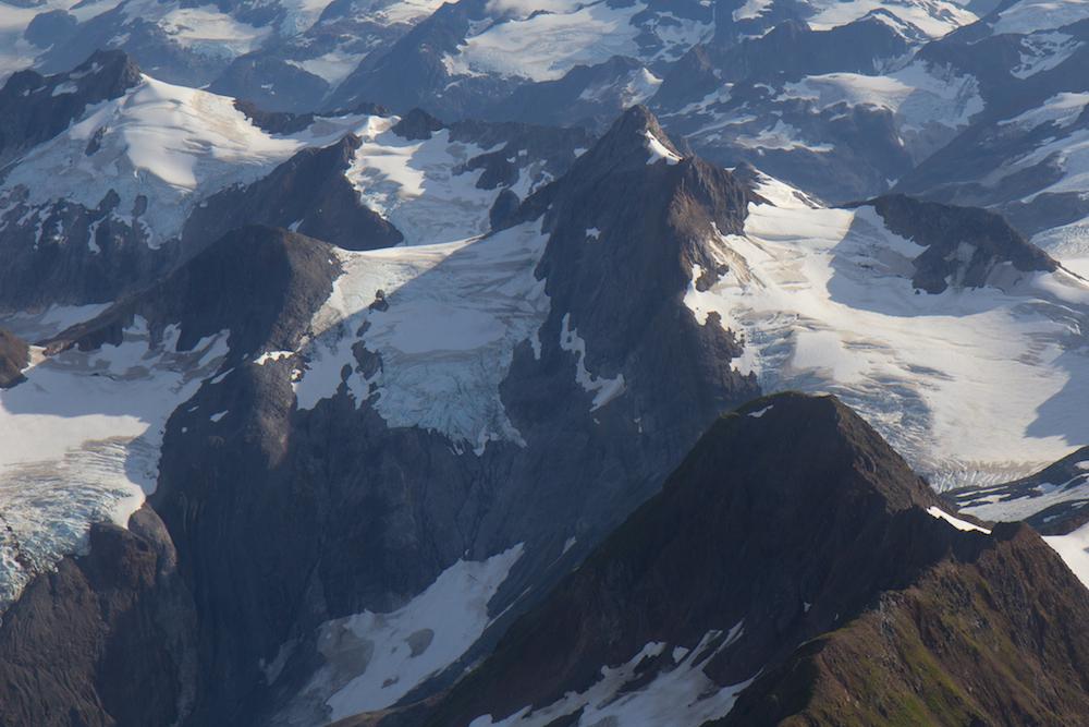 Brady Icefield flight seeing