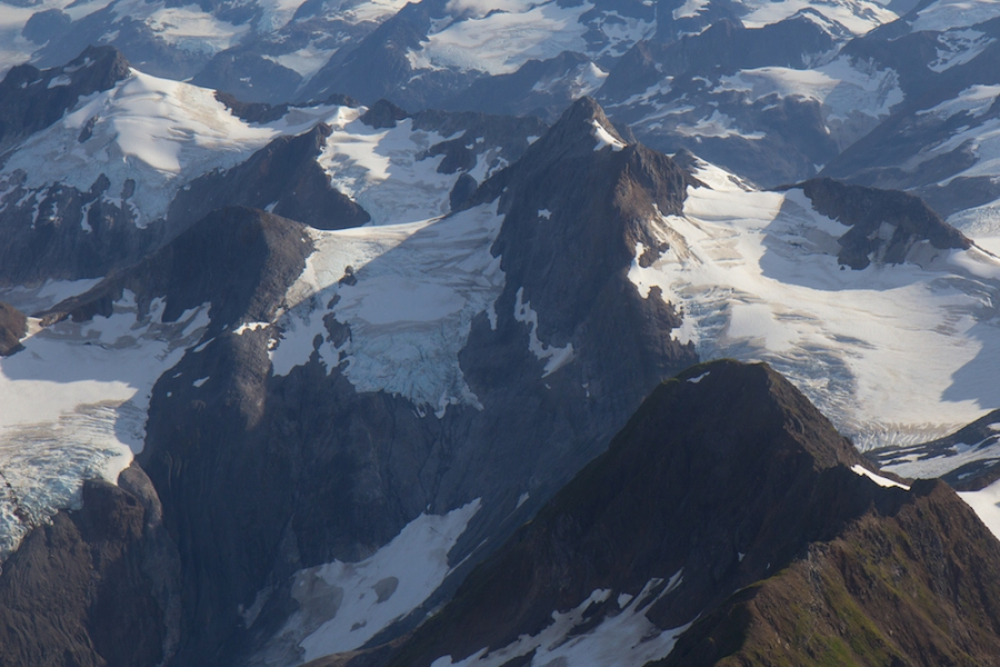 Brady Icefield flight seeing