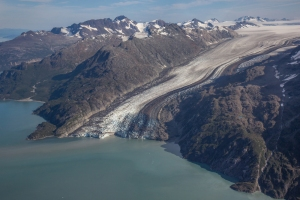 Lamplugh Glacier from Above