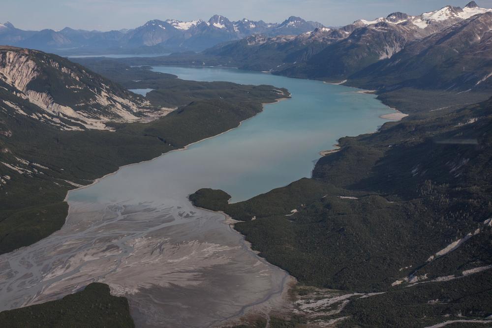East Arm Glacier Bay