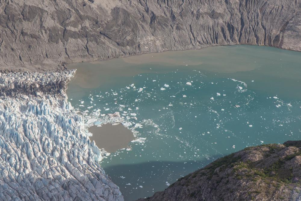 Glacier Bay Flight seeing McBride Glacier