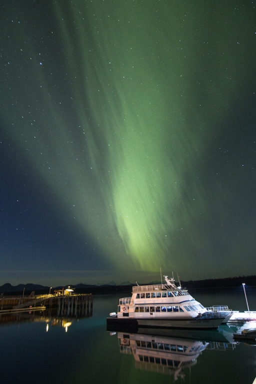 Aurora Borealis with the Baranoff Wind