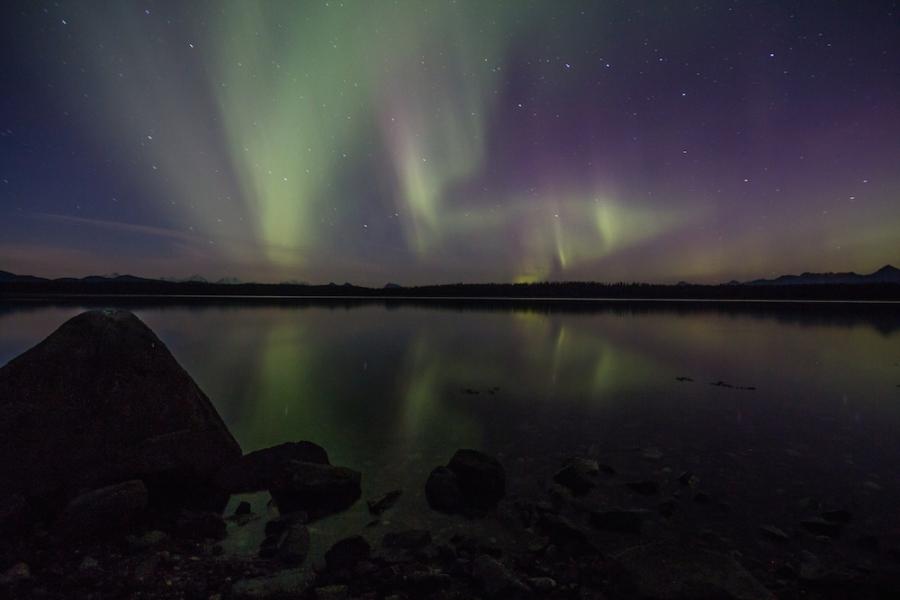 Northern Lights at Glacier Bay