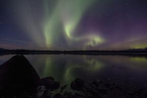 Aurora Borealis over Glacier Bay – It Was Okay Iguess