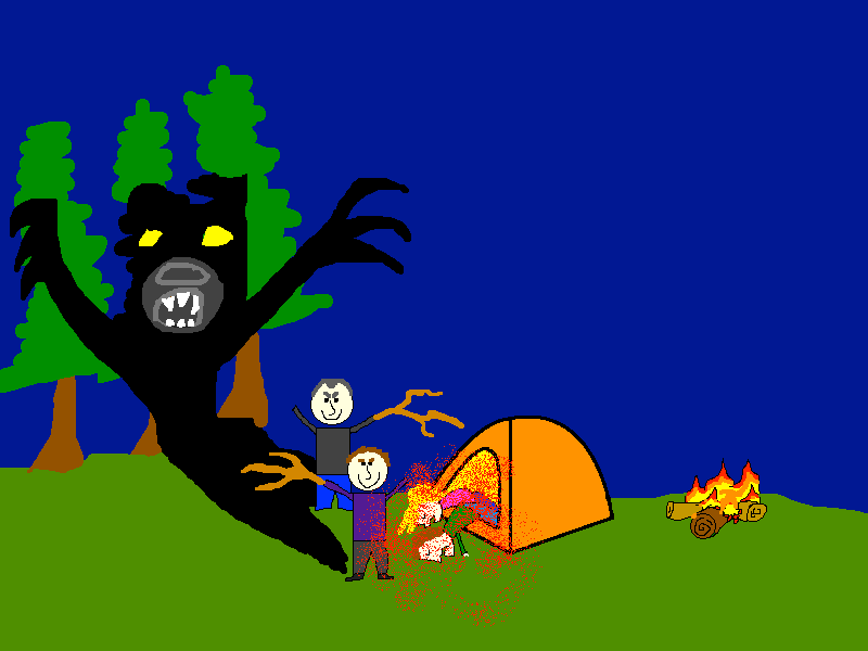 Marinated campers eaten by bears