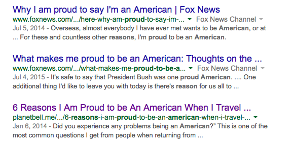 Proud to Be American Fox News