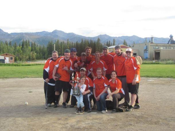 Denali Softball Champs 2012