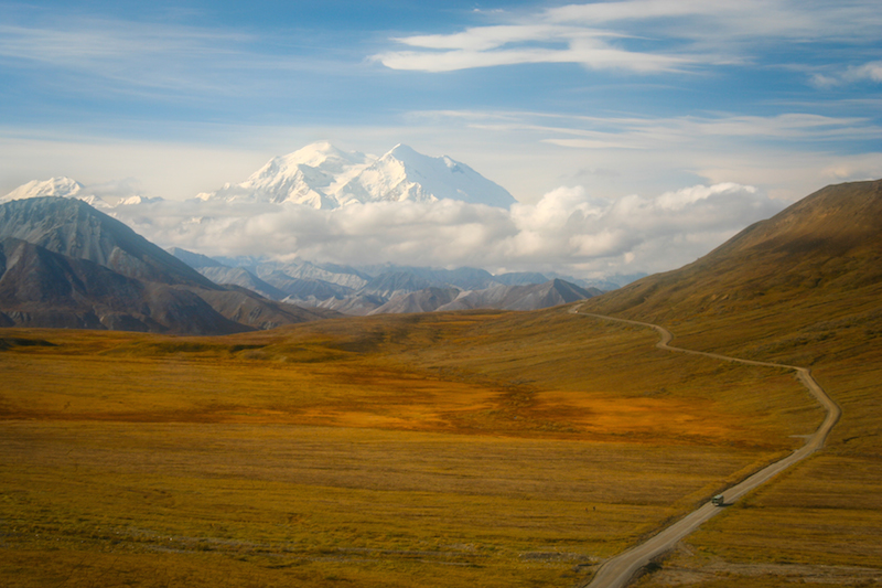 Denali from Stoney Dome