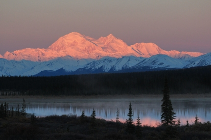 Denali from Broad Pass